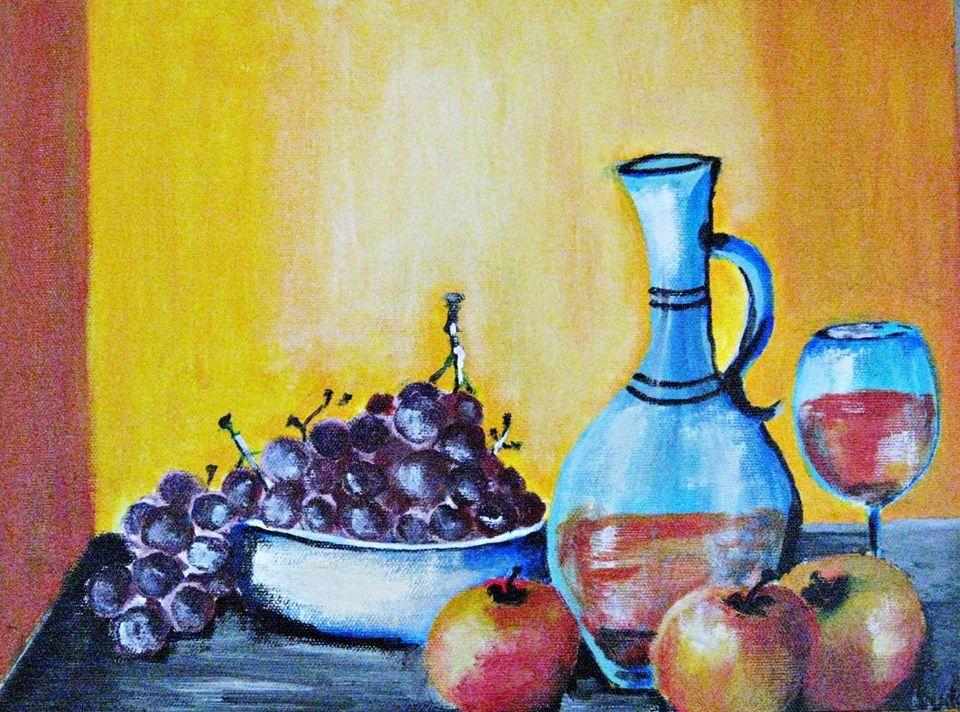 10 powodów, dla których warto malować i rysować martwą naturę