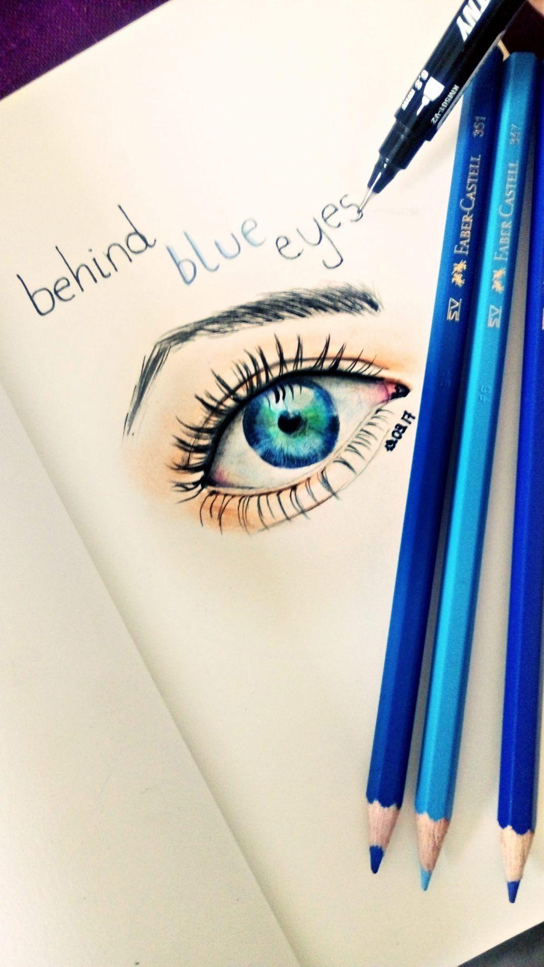 Jak narysować oko? Kredki Faber-Castell