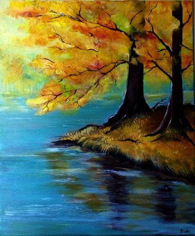 Jesienny pejzaż, czyli jak namalować obraz?