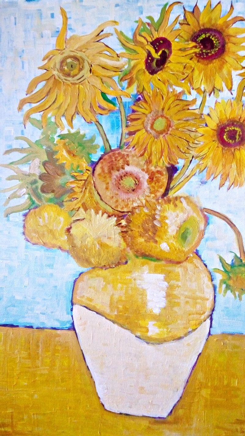 Słoneczniki van Gogha (8)