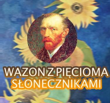 Wazon z pięcioma słonecznikami van Gogh-kopia