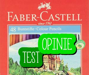 Kredki Faber-Castell Zamek 48 [TEST I OPINIE]
