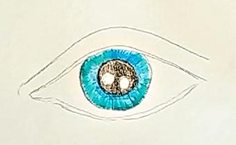 jak narysować oko 2