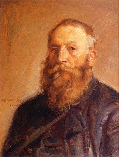 józef chełmoński autoportret 1902