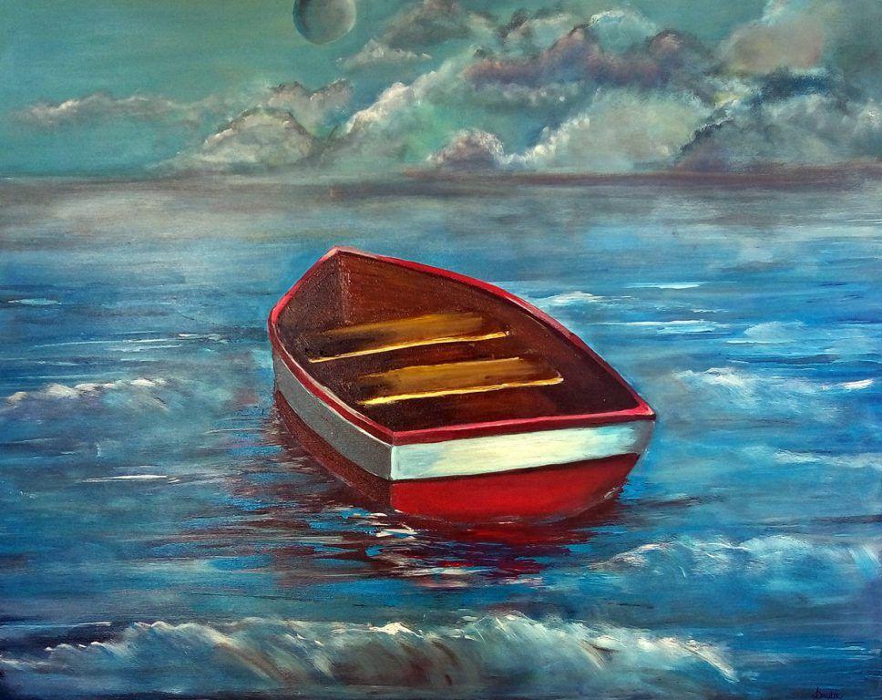 obraz łódki