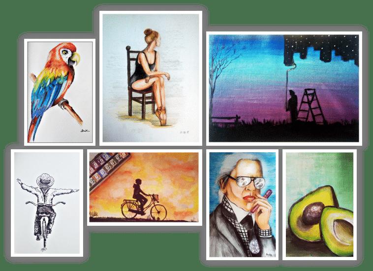 malarstwo i rysunek na zamówienie