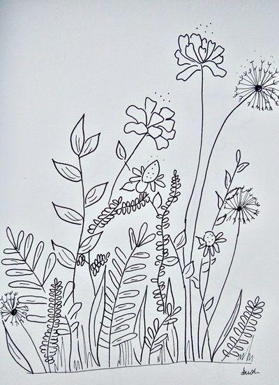 kwiaty i liście