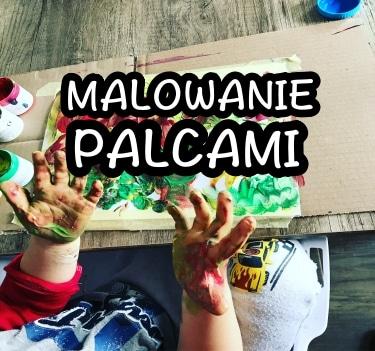 Malowanie palcami – kreatywne zabawy sensoryczne dla dzieci!