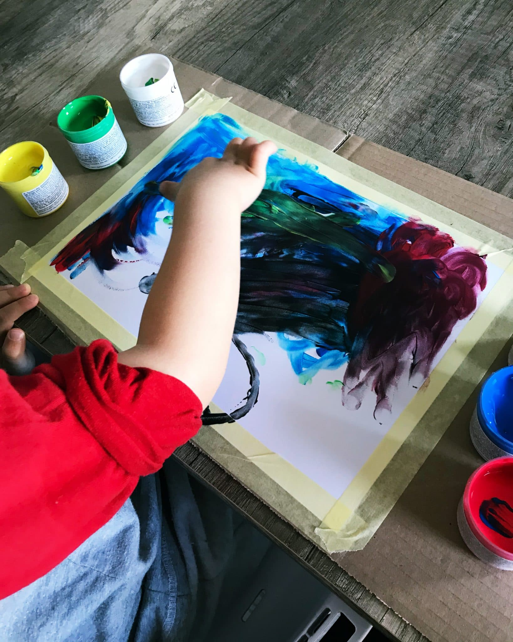 malowanie raczkami