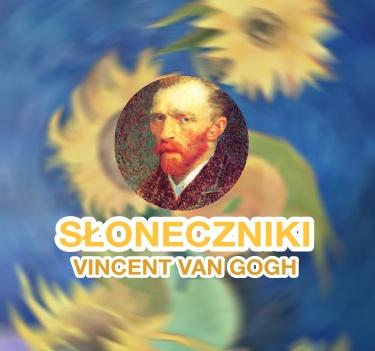 """""""Wazon z Pięcioma Słonecznikami"""" van Gogh – interpretacja i malowanie krok po kroku"""