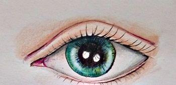 oko – jak narysować