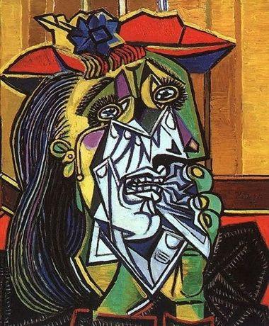 płącząca kobieta 1937