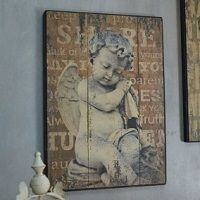 Obrazy dekoracyjne w stylu prowansalskim, retro i vintage do salonu