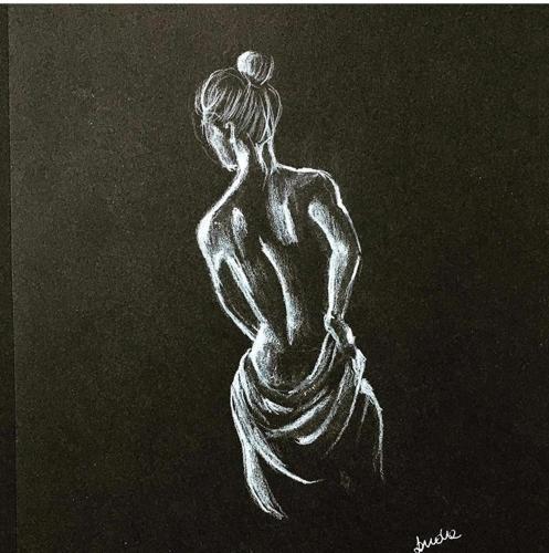 rysunek kobiety